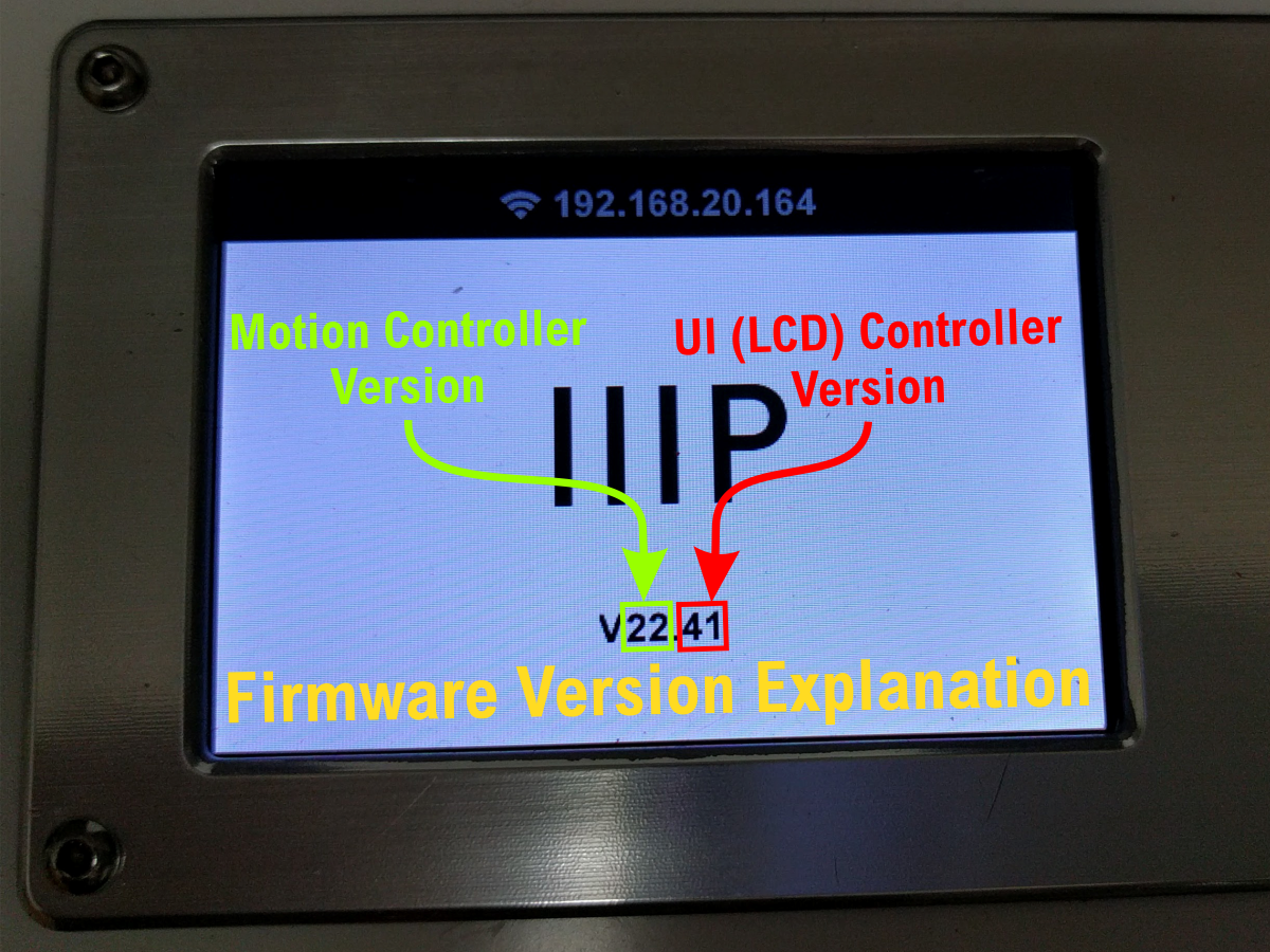 Firmware version 22.41