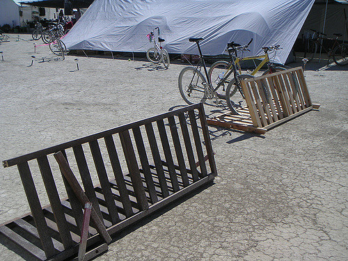 Building a better portable bike rack